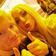 Lady Gaga prend la défense d'Ed Sheeran après que ses fans s'en soient pris à lui sur Twitter - Photo publiée sur Instagram le 5 juillet 2017