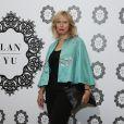 Karin Viard - Défilé de mode Lanyu, collection Couture automne-hiver 2017/2018 à l'hôtel Intercontinental à Paris, le 5 juillet 2017. © Denis Guignebourg / Bestimage