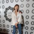 Isabelle Huppert - Défilé de mode Lanyu, collection Couture automne-hiver 2017/2018 à l'hôtel Intercontinental à Paris, le 5 juillet 2017. © Denis Guignebourg / Bestimage