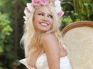 Pamela Anderson furieusement décolletée pour un nouveau pari osé