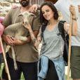 """Alizée, Liane Foly et les frères Karabatic bientôt sur C8, à la rentrée 2017, dans """"Des moutons et des stars""""."""