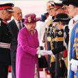 Le prince Philip, duc d'Edimbourg et la reine Elisabeth II d'Angleterre - Le couple royal d'Espagne reçu au palais de Buckingham par la famille royale d'Angleterre à Londres. Le 12 juillet 2017  Reception ceremony on occasion for their official visit to United Kingdom in London on Wednesday 12 July 2017. On the first day of their 3 day tour of United Kingdom12/07/2017 - Londres