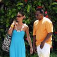 Bobby Brown et sa compagne Alicia Etheridge