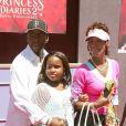 Bobby Brown avec son ex femme, Whitney Houston et leur fille Bobbi Kristina
