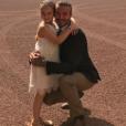 David Beckham célèbre le sixième anniversaire de sa fille Harper au Palais de Buckingham - Photo publiée sur Instagram le 10 juillet 2017.