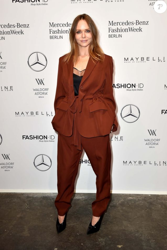 Stella McCartney à la soirée 'Designer for Tomorrow' lors du la Fashion Week Mercedes-Benz à Berlin, le 9 juillet 2017.