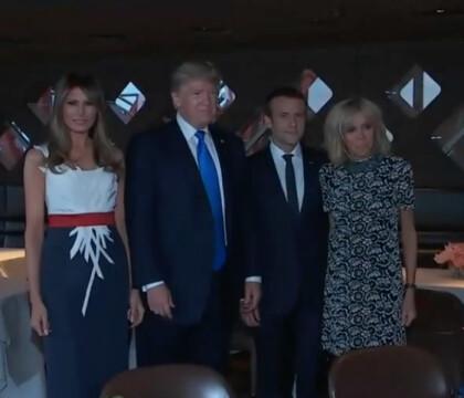 Emmanuel et Brigitte Macron : Dîner d'exception avec Donald et Melania Trump