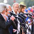 Patrick Chesnais lors de la cérémonie d'hommage aux victimes de l'attentat du 14 juillet 2016 à Nice, le 14 juillet 2017. © Bruno Bébert/Bestimage C