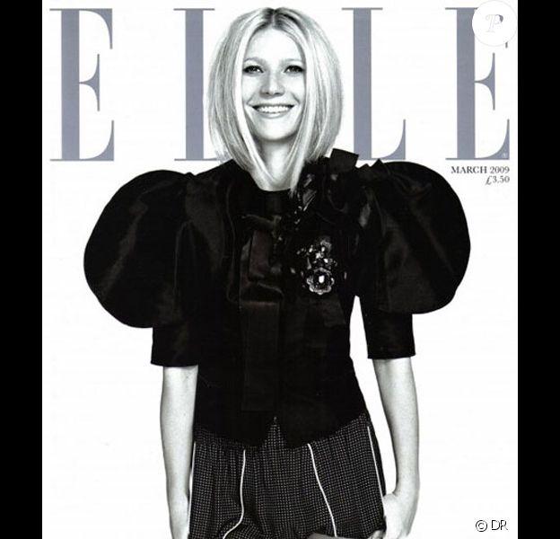 Gwyneth Paltrow parfaite pour le magazine Elle UK