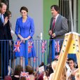 Le prince William et la duchesse Catherine de Cambridge en visite à l'association Strassenkinder à Berlin, le 19 juillet 2017.