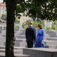 Le prince William et Kate Middleton au Mémorial de l'Holocauste à Berlin, à Berlin le 19 juillet 2017 dans le cadre de leur visite officielle.