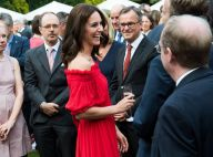 Kate Middleton : Charme bohème et épaules nues en garden party à Berlin