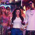 Demi Lovato, avec Paris Hilton et Wiz Khalifa, dans son nouveau clip Sorry Not Sorry - Image publiée sur Instagram, le 19 juillet 2017