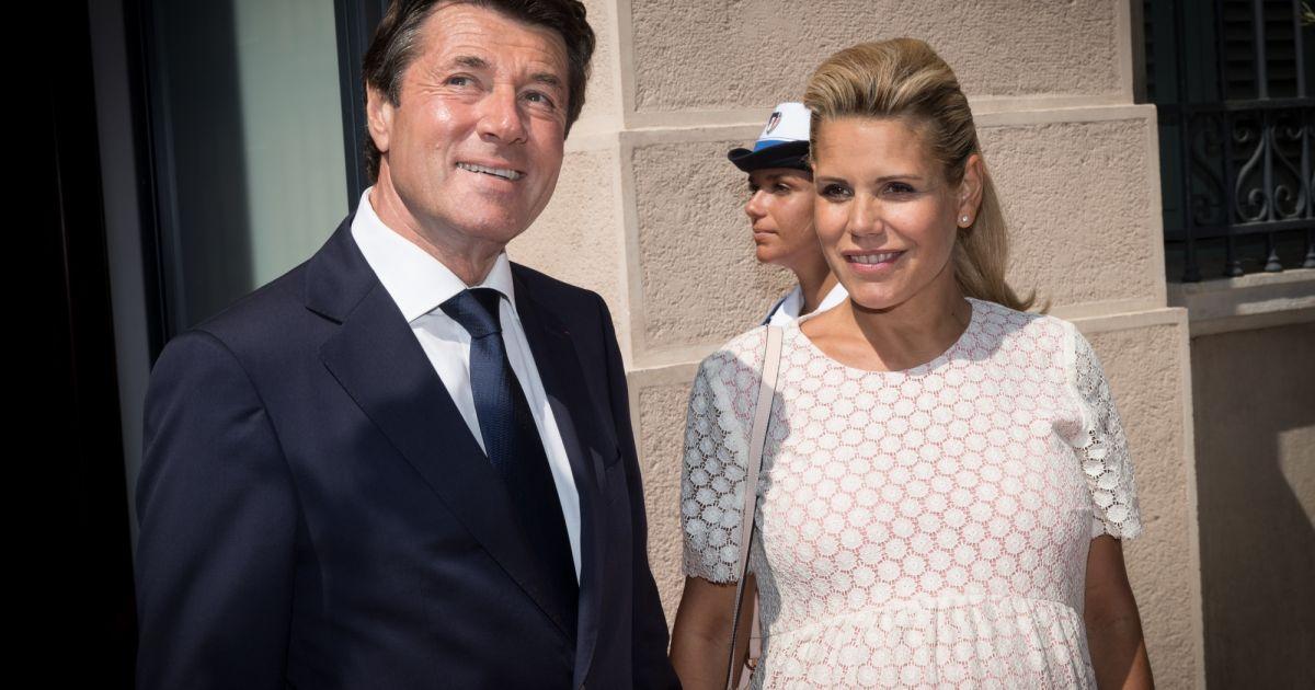 Le maire de nice christian estrosi sa femme laura tenoudji enceinte le pr sident de la - Damien thevenot et son compagnon ...