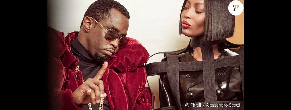 diddy et naomi campbell coulisses de la r alisation du calendrier pirelli 2018 par tim walker. Black Bedroom Furniture Sets. Home Design Ideas