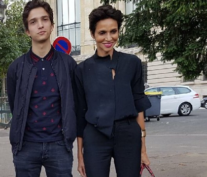 Farida Khelfa : Anniversaire en famille avec son fils Ismaël et Léa Seydoux