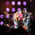 Concert du groupe The Red Hot Chili Peppers lors du festival Lollapalooza à Paris. Le 23 juillet 2017