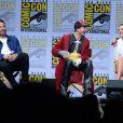 Ben Affleck, Ezra Miller, Gal Gadot à la soirée 'Justice Leaguel' du Comic Con 2017 au Hilton Bayfront à San Diego, le 22 juillet 2017