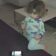 Le petit Adam (né en 2014), fils benjamin de Vitaa et de son époux Hicham, dans une vidéo publiée sur Instagram le 21 juin 2017