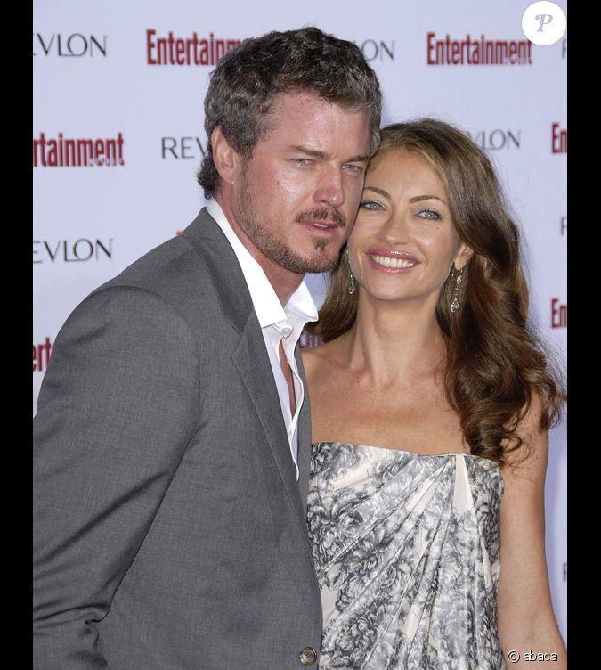 Eric Dane et sa femme Rebecca Gayheart...