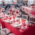 Image du 69e Gala de la Croix-Rouge monégasque dans la Salle des Étoiles du Sporting à Monaco, le 28 juillet 2017. © Palais Princier / Pierre Villard / Monte-Carlo Société des Bains de Mer via Bestimage
