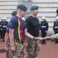 Le prince Philip, duc d'Edimbourg, a accompli la dernière mission - la 22 220e - de sa carrière royale de 65 années le 2 août 2017 au palais de Buckingham à Londres, à l'occasion d'une parade des Royal Marines, la Captain General's Parade, marquant la fin du 1664 Global Challenge, une initiative caritative.