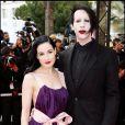 Dita Von Teese et Marilyn Manson à Cannes le 20/05/2006