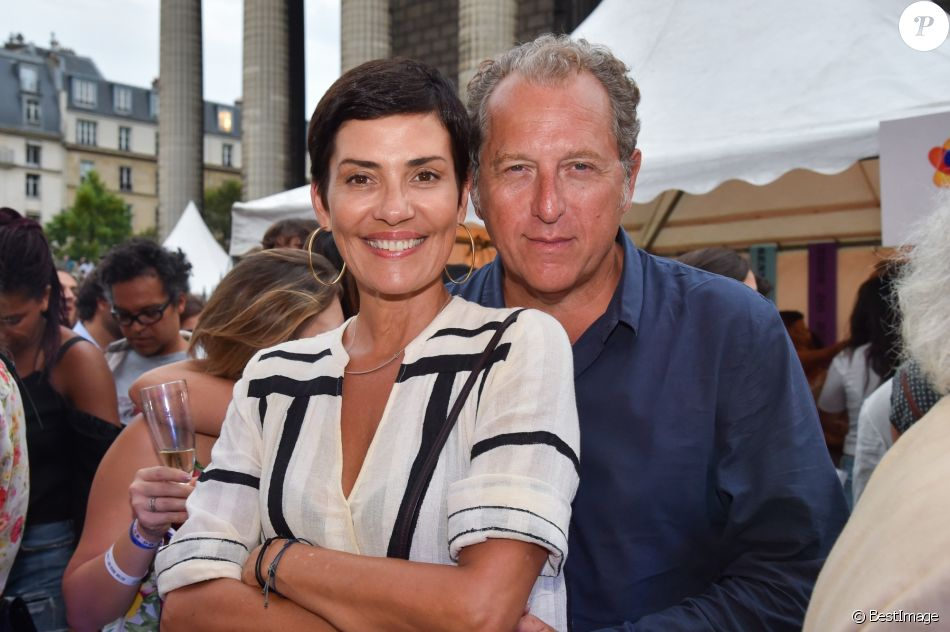 Exclusif , Cristina Cordula et son compagnon Frédéric Cassin lors de la  15ème édition du Festival