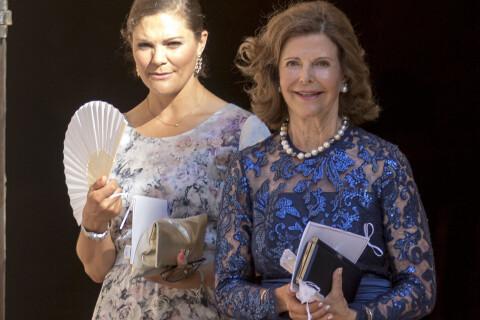 Victoria et Silvia de Suède: Mère et fille de mariage à Majorque, très élégantes