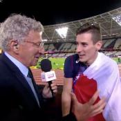 Pierre-Ambroise Bosse face à Nelson Monfort : L'interview déjantée du champion !