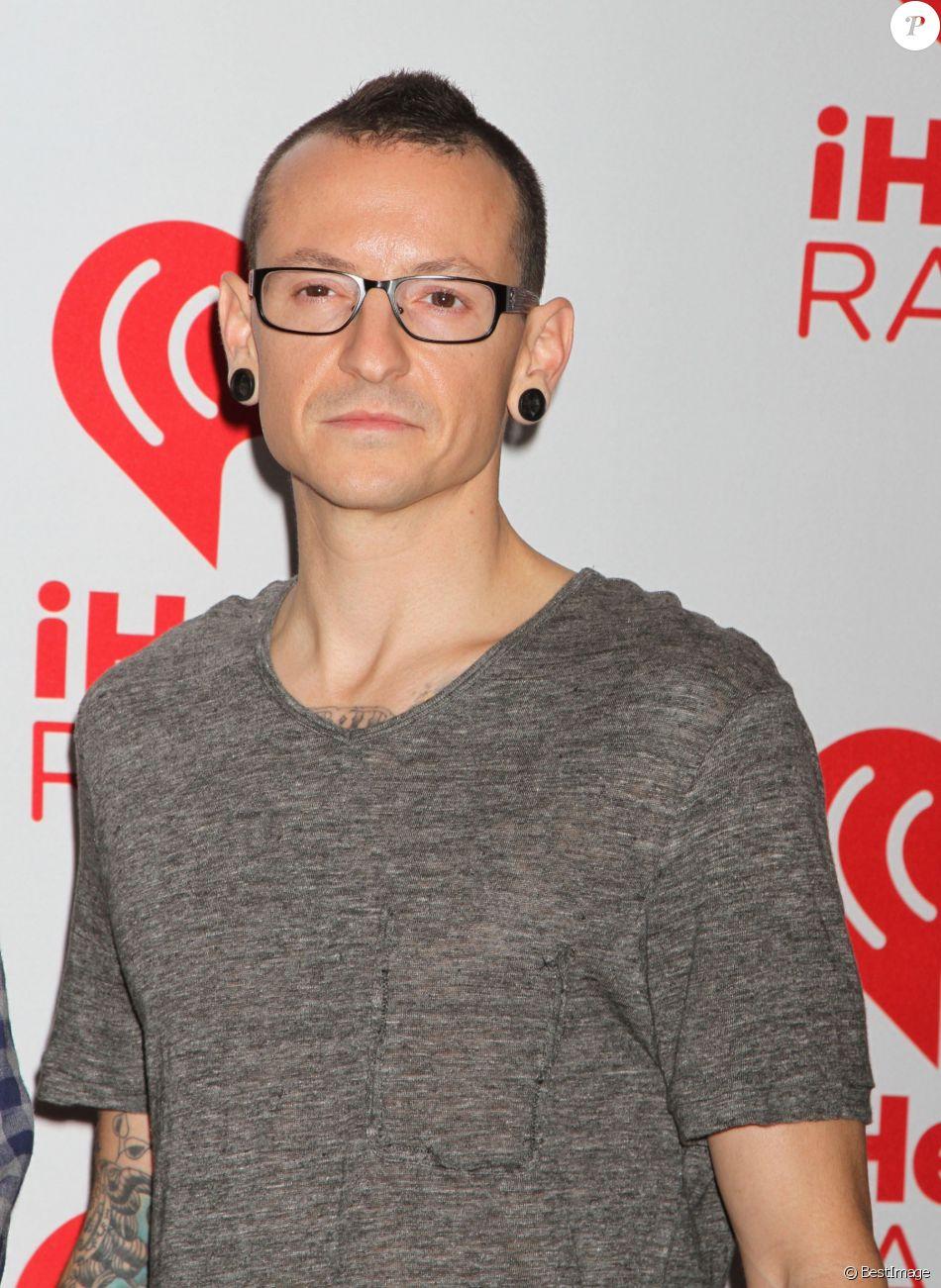 """Linkin Park, Chester Bennington au 2eme jour du festival de musique """"iHeartRadio"""" a Las Vegas, le 22 septembre 2012."""