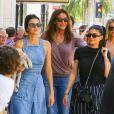"""Exclusif - Kendall, Caitlyn et Kylie Jenner à Beverly Hills le 18 juin 2017."""