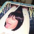 Kylie Jenner fête ses 20 ans au STAPLES Center, à l'issue du concert de Kendrick Lamar. Los Angeles, nuit du 9 au 10 août 2017.