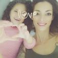 Emilie Nef Naf et sa fille Maëlla sur Instagram, octobre 2016.