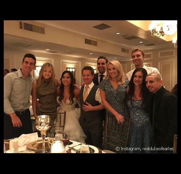 Image du mariage de Jason Earles et de sa femme Katie Drysen. Instagram, août 2017