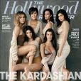 Kris Jenner et ses filles, Kourtney, Kim, Khloé Kardashian, Kylie et Kendall Jenner encore de 'The Hollywood Reporter'. Numéro du 16 août 2017.