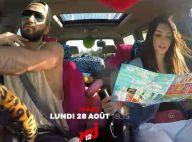 Nabilla et Thomas en road trip : Panique, fous rires... Les 1res images