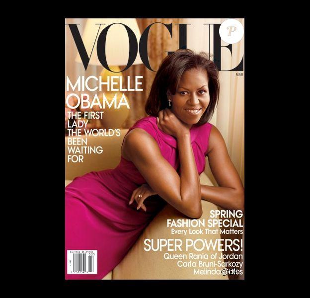 Michelle Obama en couverture de Vogue