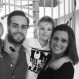 Nikola Lozina présente sa soeur Célia Lozina, sur Instagram, et son petit frère Téo