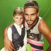 Nikola Lozina présente son petit frère Téo, un jeune footballeur de 9 ans