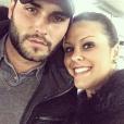 Nikola Lozina présente sa soeur Célia Lozina, sur Instagram
