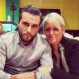 Nikola Lozina présente sa maman, sur Instagram