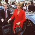 Diana, Princesse de Galles à Londres. Octobre 1996.
