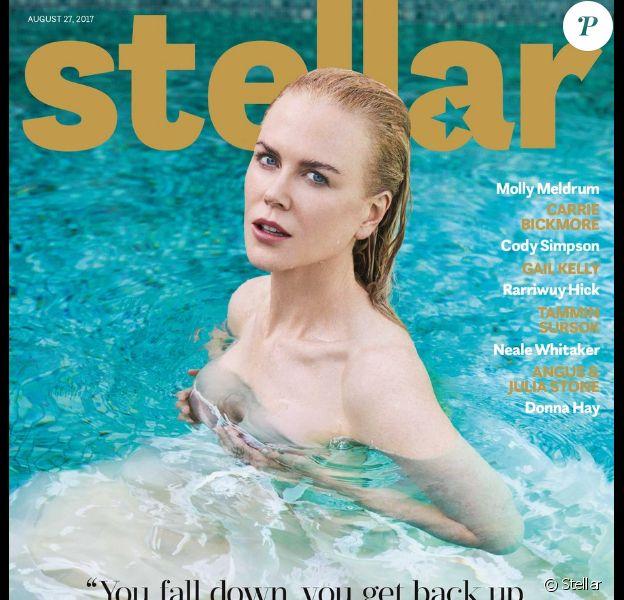 Nicole Kidman pose pour le 1er anniversaire du magazine Stellar.