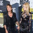 Keith Urban, sa femme Nicole Kidman lors des ''2017 CMT Music awards'' au Music City Center à Nashville, le 7 juin 2017.
