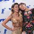 Paris Jackson et Caroline D'Amore à la soirée MTV Video Music Awards 2017 au Forum à Inglewood, le 27 août 2017.