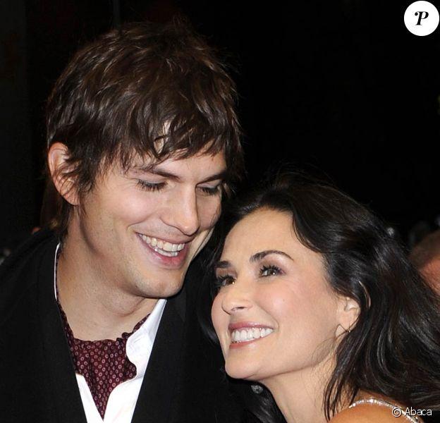 Demi Moore absolument magnifique au bras de son mari, Ashton Kutcher