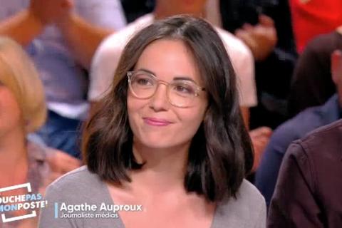 TPMP - Agathe Auproux : Sublime décolleté pour la rentrée, elle fait sensation !