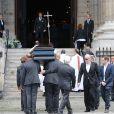 Pascal Desprez - Obsèques de Mireille Darc en l'église Saint-Sulpice à Paris. Le 1er septembre 2017