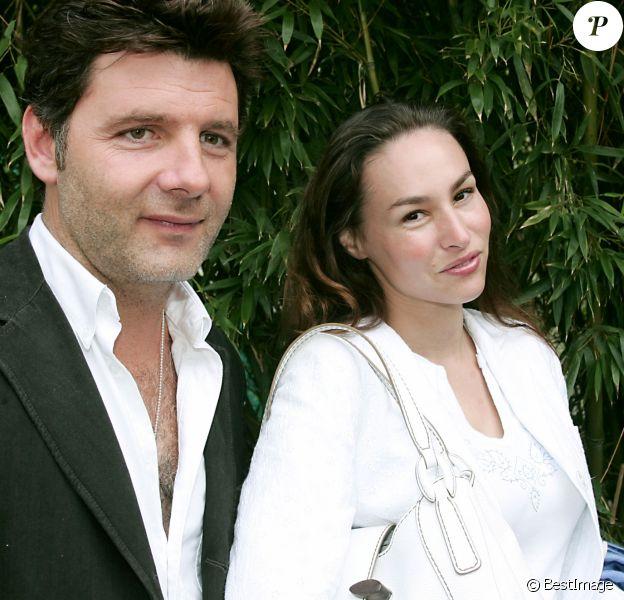 Vanessa demouy et Philippe Lellouche à Paris, le 25 mai 2005.